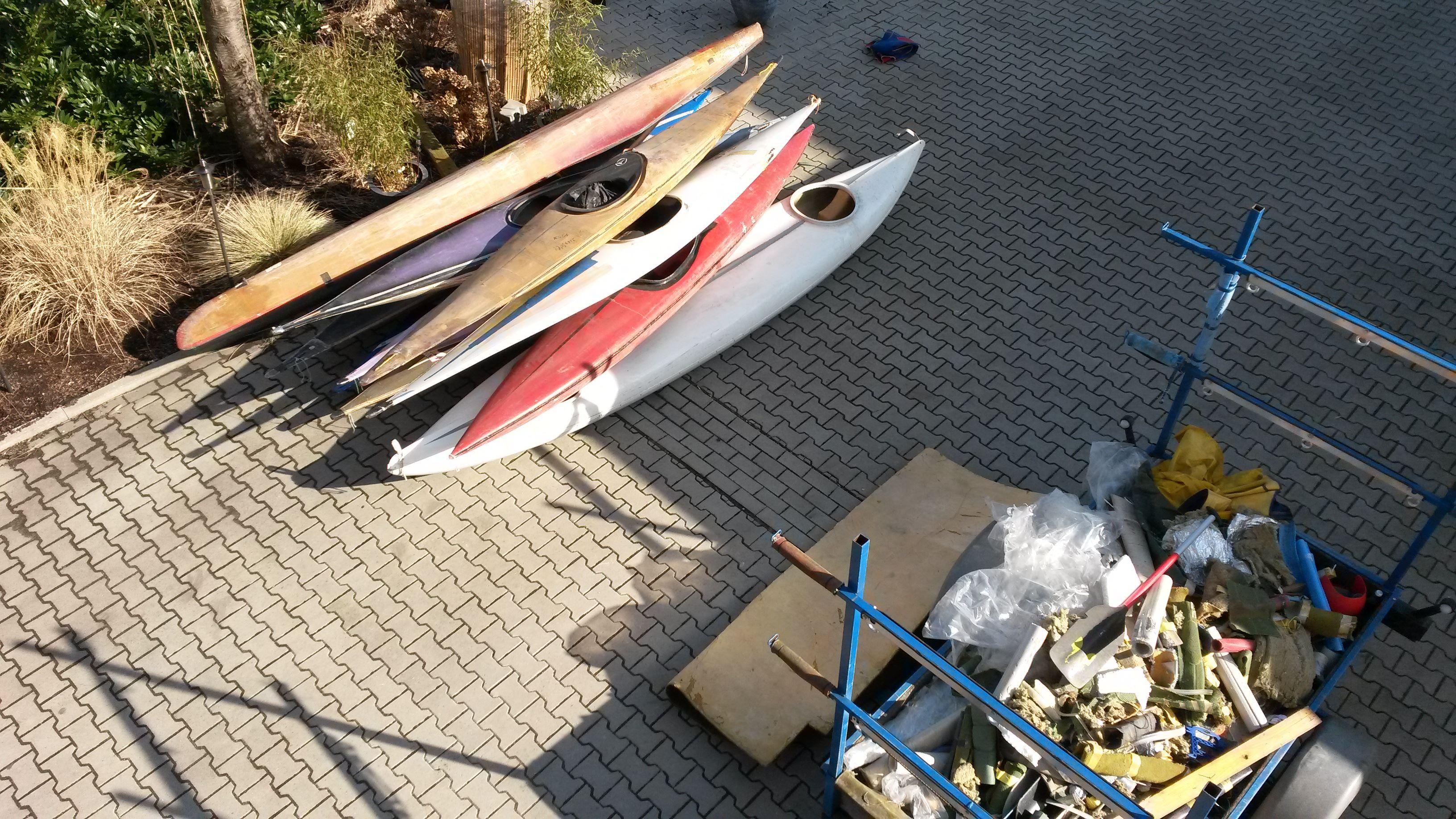 Bootsschuppen oder Müllhalde