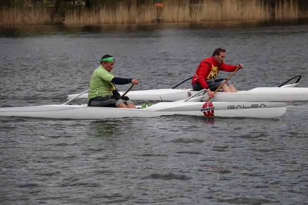 Thomas Brandt (r) setzt sich mit seinem 3. Platz gegen die Konkurrenz durch