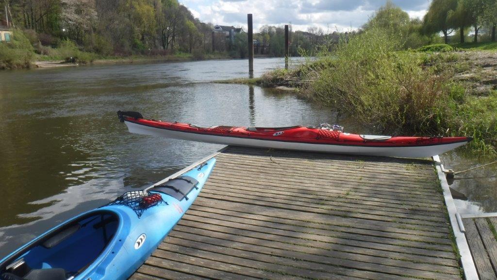 Weser-Tour zu Zweit