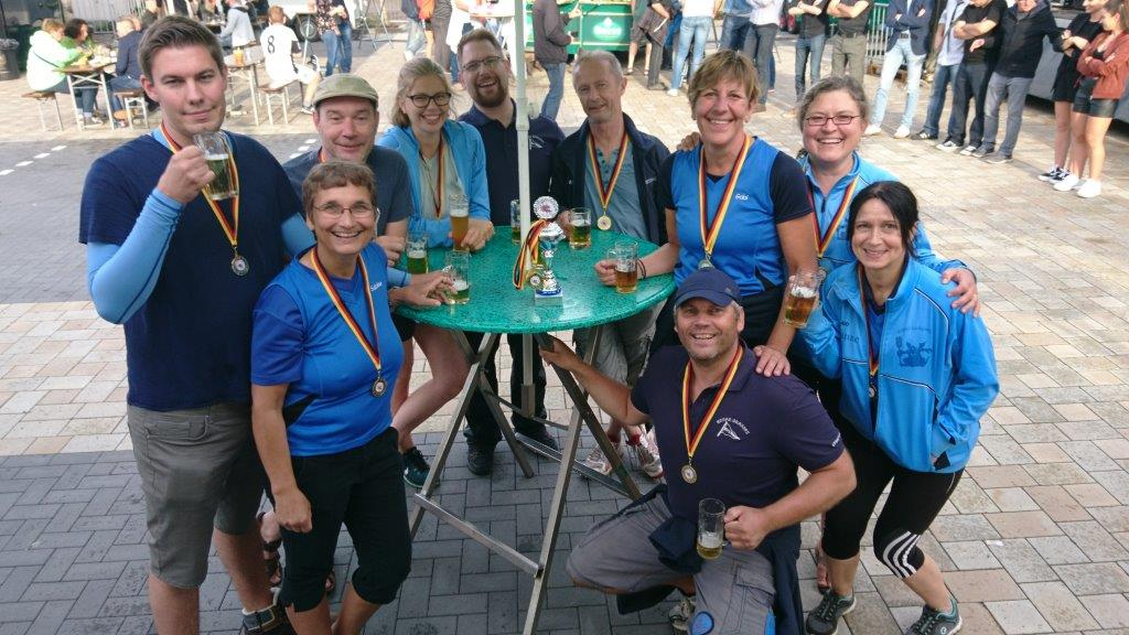 Werre-Dragons, 3. Platz bei der Hafenfest-Regatta in Bad Essen